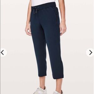 """lululemon athletica Pants & Jumpsuits - Lululemon ON THE FLY CROPPED """"woven 23 inch"""""""